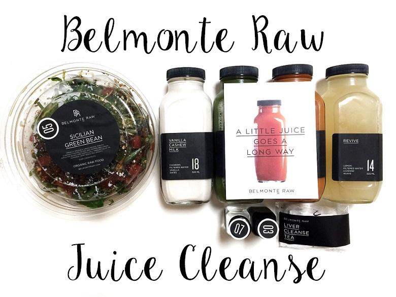belmonte raw juice cleanse