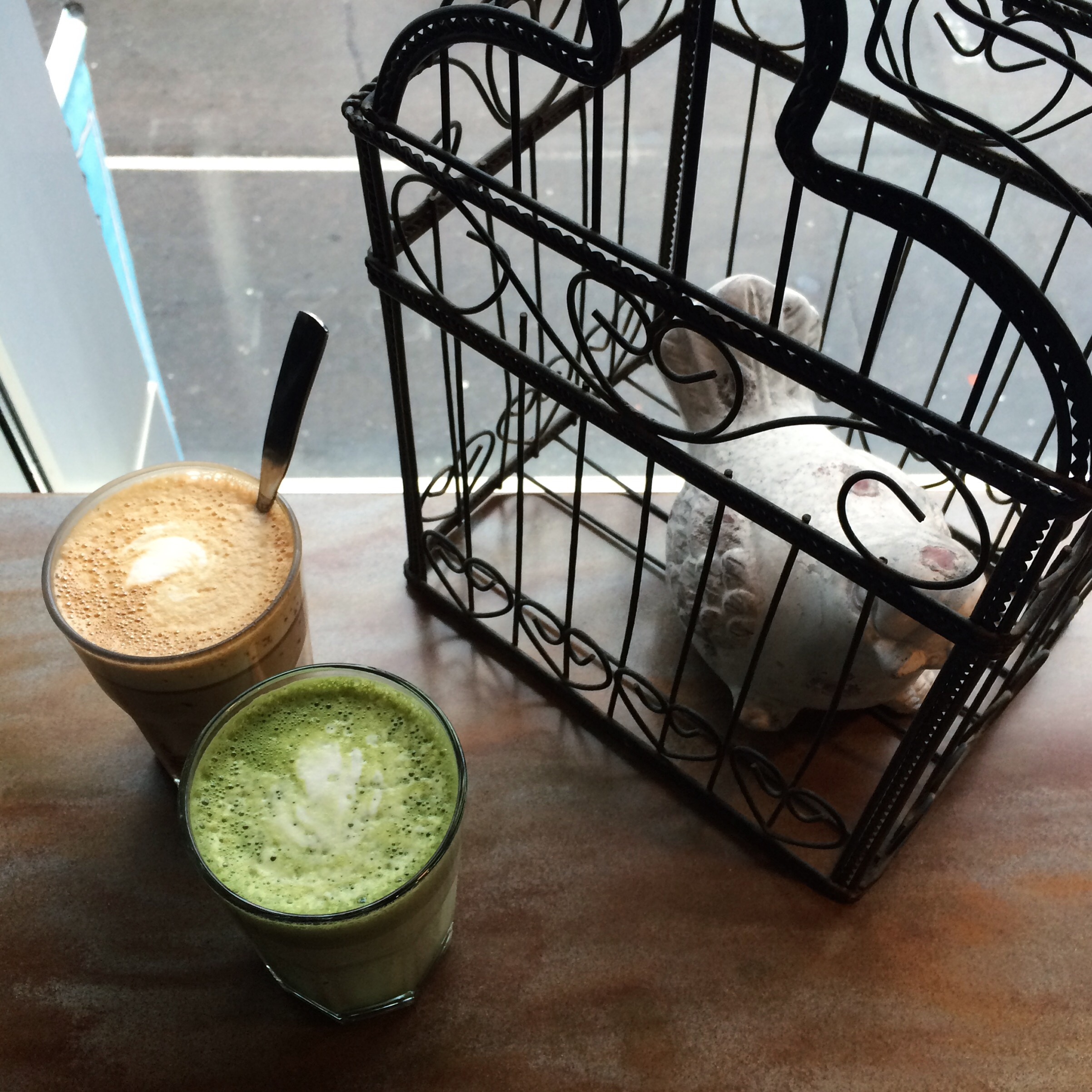 Matcha Latte at Black Canary