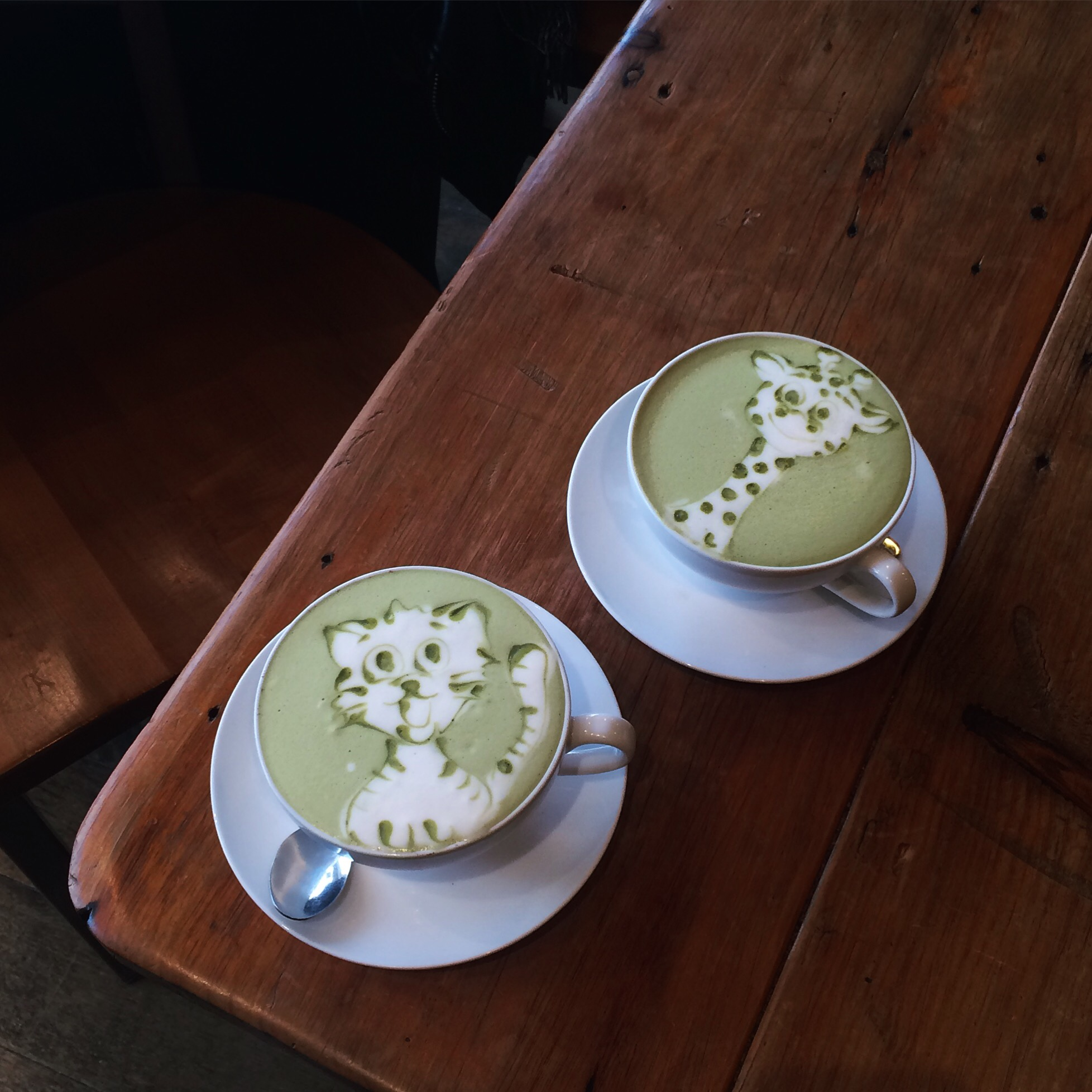 Matcha Latte at Himalayan