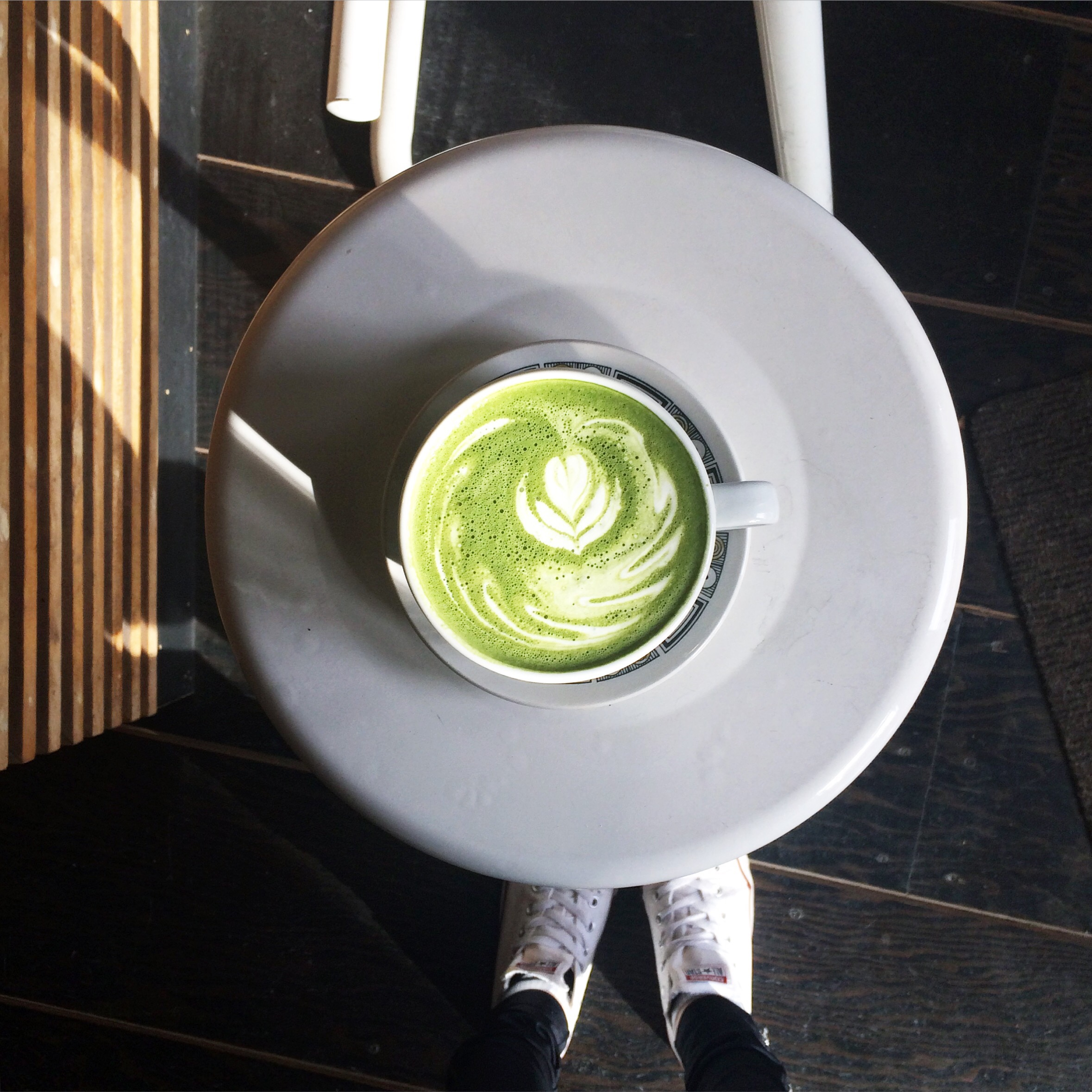 Matcha Latte at Tandem Coffee